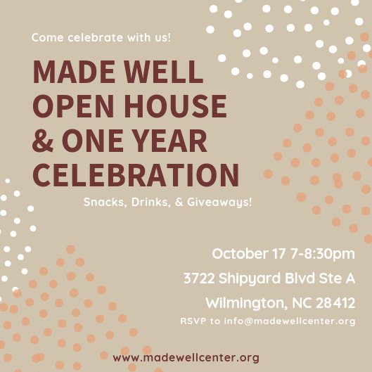 Open House and One Year Celebration